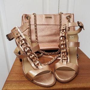 Rebecca Minkoff Rose Gold Handbag